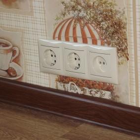 розетки и выключатели в квартире