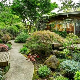 сад в японском стиле идеи