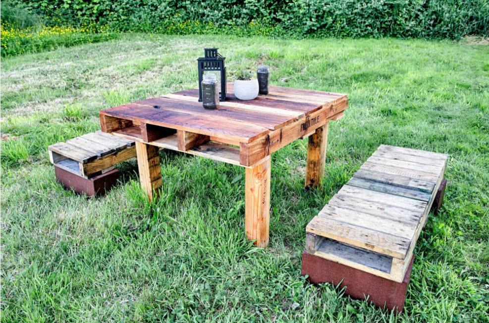 садовая мебель идеи фото