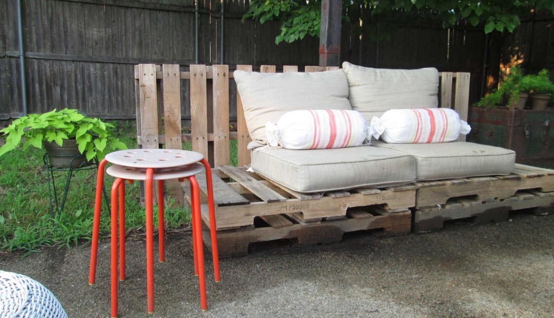 садовая мебель идеи