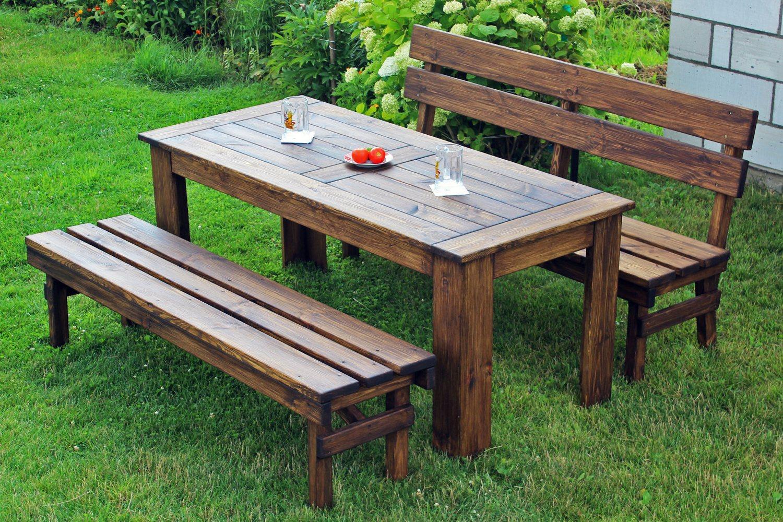 садовая мебель из массива идеи