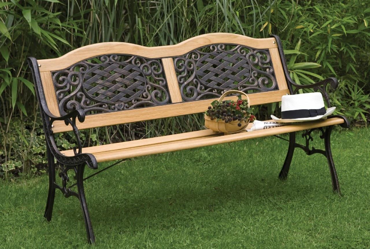 кованые скамейки модерн
