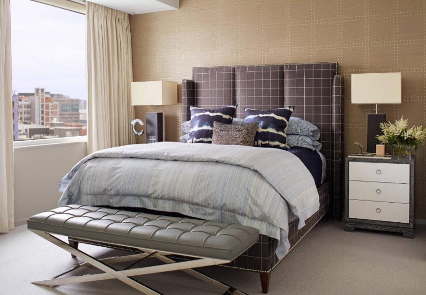 современная спальня 2020