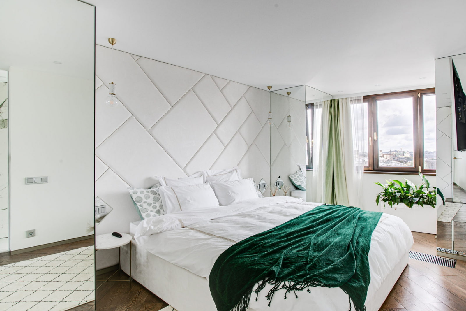 современная спальня дизайн