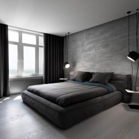 современная спальня фото
