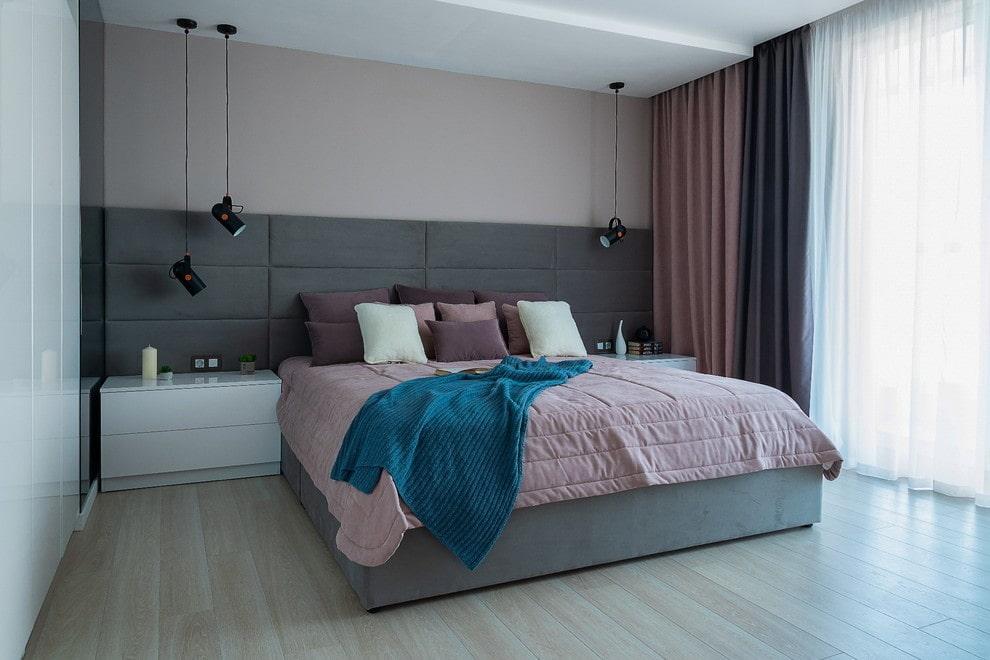 современная спальня оформление