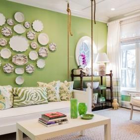 способы декора комнаты варианты оформления