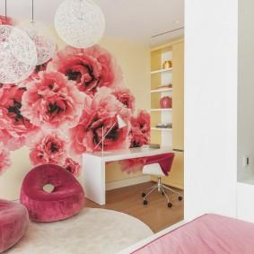 способы декора комнаты фото интерьер