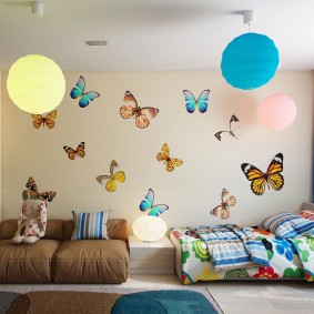 способы декора комнаты идеи интерьер