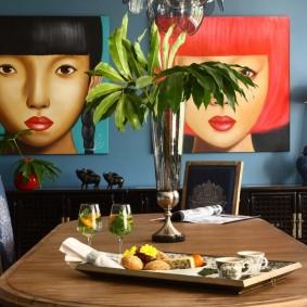 способы декора комнаты варианты дизайна
