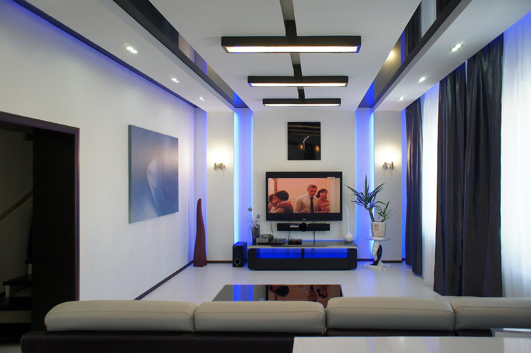 светодиодное освещение комнат в квартире