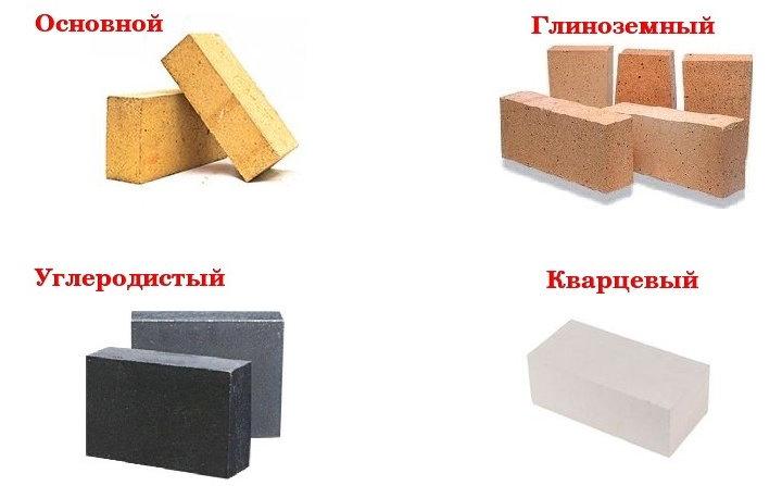 Разновидности огнеупорных кирпичей для частного строительства