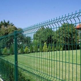 Забор из 3д панелей фото