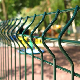 Забор из 3д панелей идеи