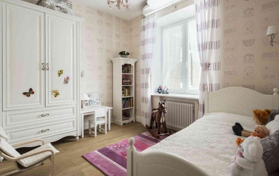 Белая мебель в прованском стиле