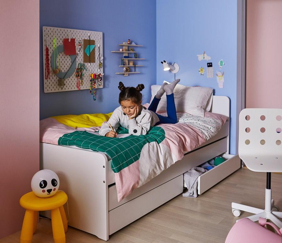 Фотографии красивых и современных детских кроватей