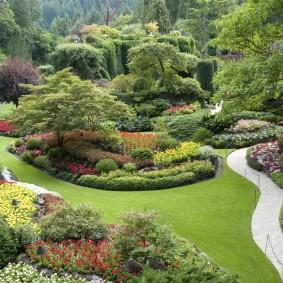 Оформление садового участка в английском стиле