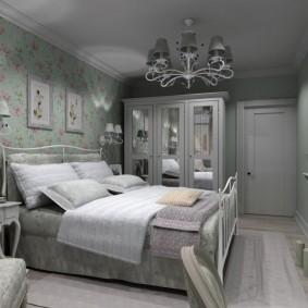 Прованская спальня в темных тонах