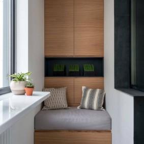 Оформление балкона в современном стиле