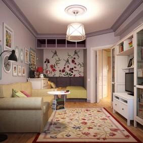 Уютная квартира с одной комнатой