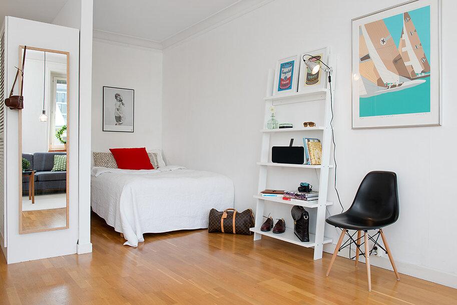 Дизайн комнаты с углублением фото