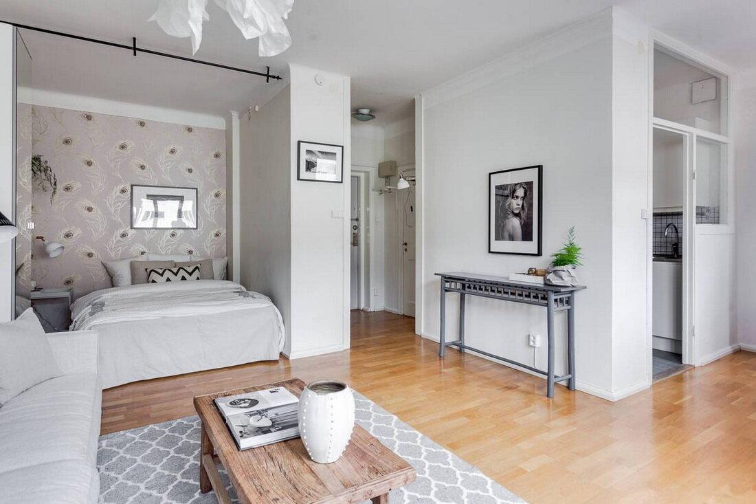 очень сильно фотографии дизайна однокомнатных квартир с нишей вычурность идут рука