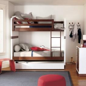 Дизайн небольшой детской комнаты в современном стиле