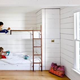 Обустройство спальни для разнополых детей