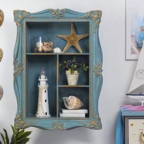 Морской декор в комнате мальчика