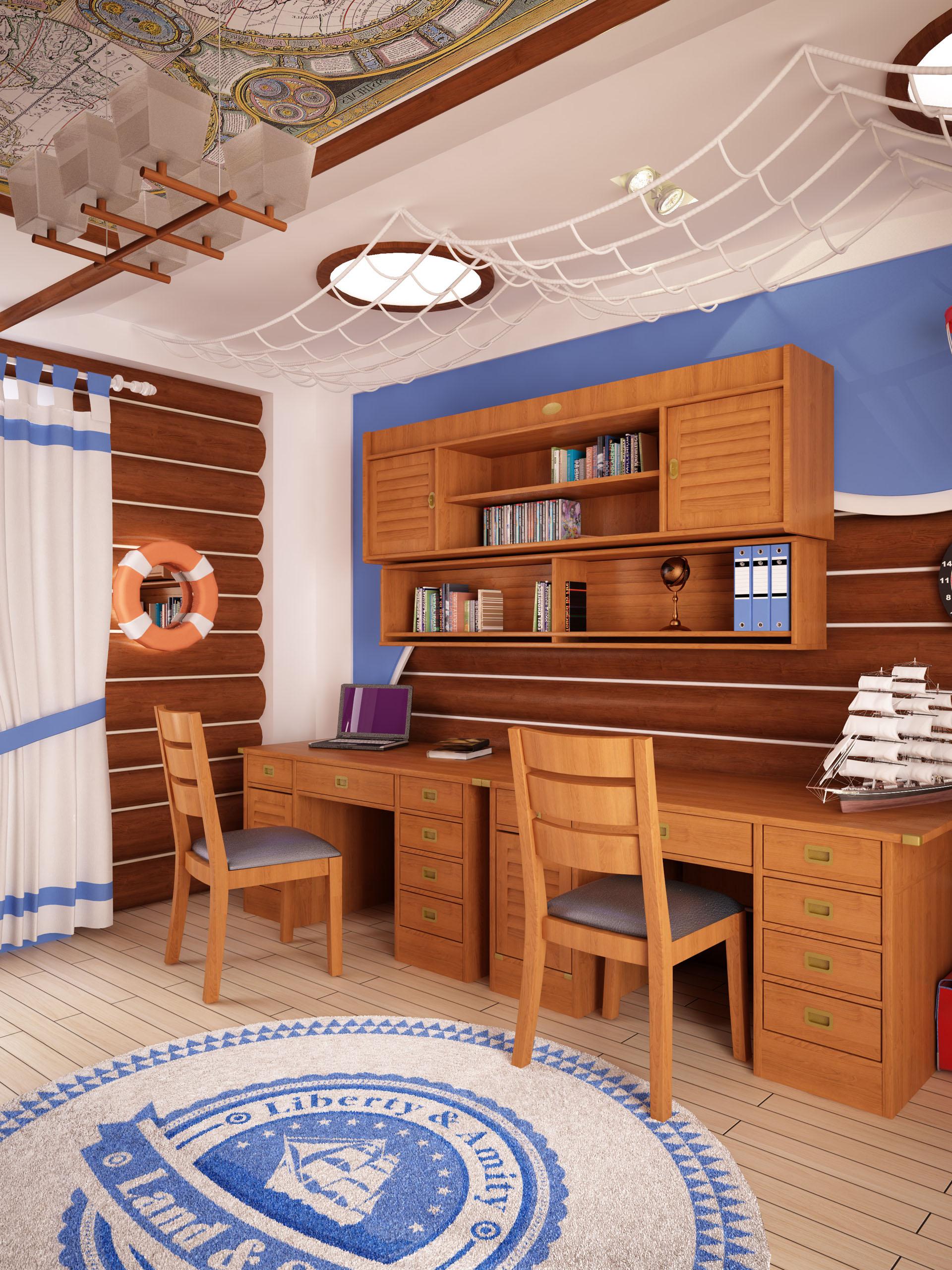 фото морской стиль в доме