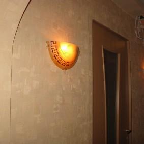 Накладные светильники с плафонами из стекла