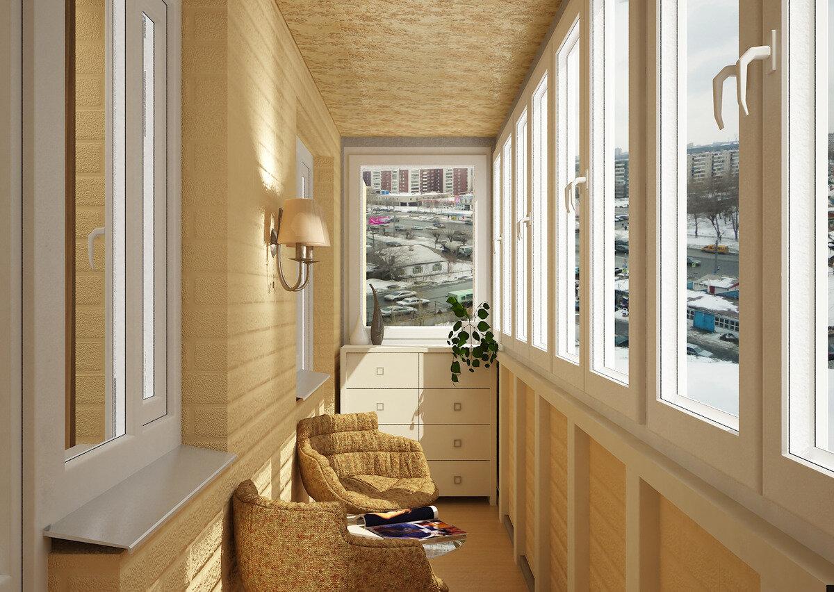 отделка балкона внутри фото оформления вид