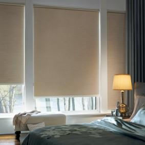 Рулонные шторы из плотной ткани