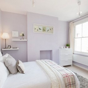 Модный интерьер спальной комнаты