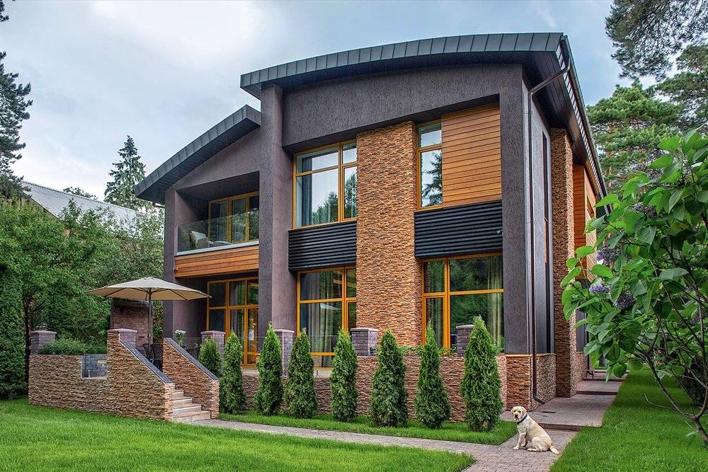можете фасад частного дома фотогалерея силикона