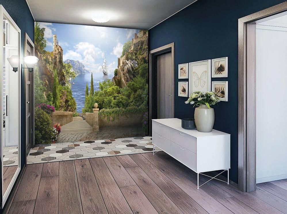 такого поведения фотообои на стену для коридора фото сочетание