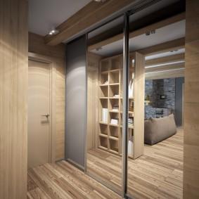 Купейный шкаф встроенной конструкции