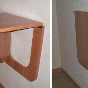 Устройство откидного столика из ДСП