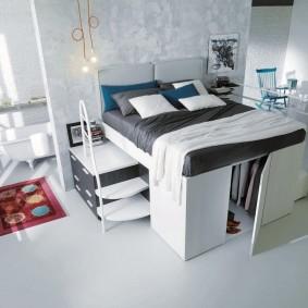 Кровать-трансформер с местом для хранения вещей