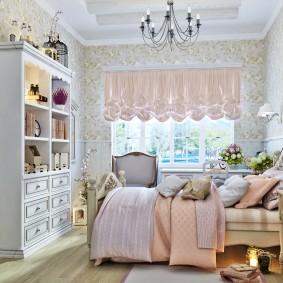 Дизайн детской спальне в деревенском стиле