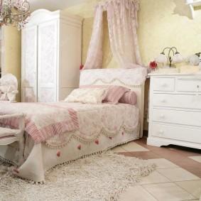 Меблировка комнаты в прованском стиле
