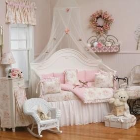 Декор комнаты для девочки дошкольного возраста