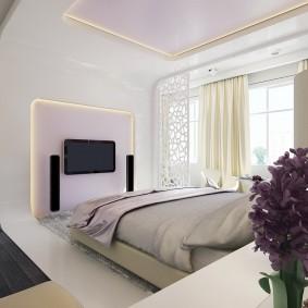 Неоклассический стиль в интерьере спальни