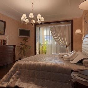 Освешение спальни в современном стиле