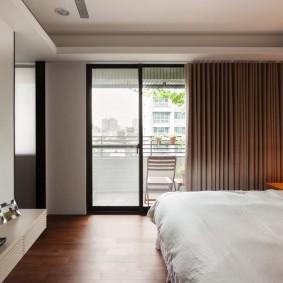Лаконичный дизайн спальни в современном исполнении