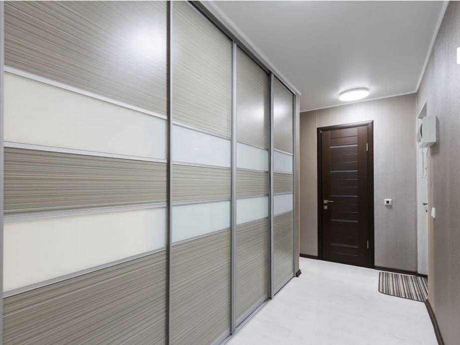 белый шкаф купе в коридор фото своей