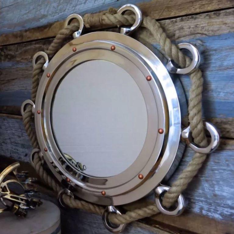 Зеркало в морском стиле для детской комнаты