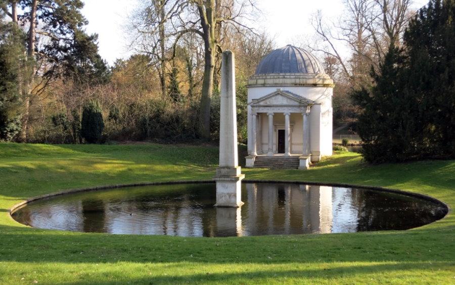 Английский парк в поместье Чизвик