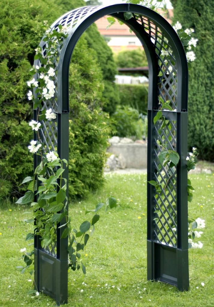 Пластиковая арка для плетистых растений