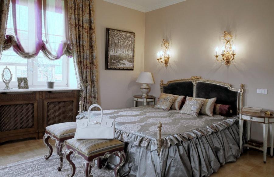 Настенные светильники для спальни в классическом стиле